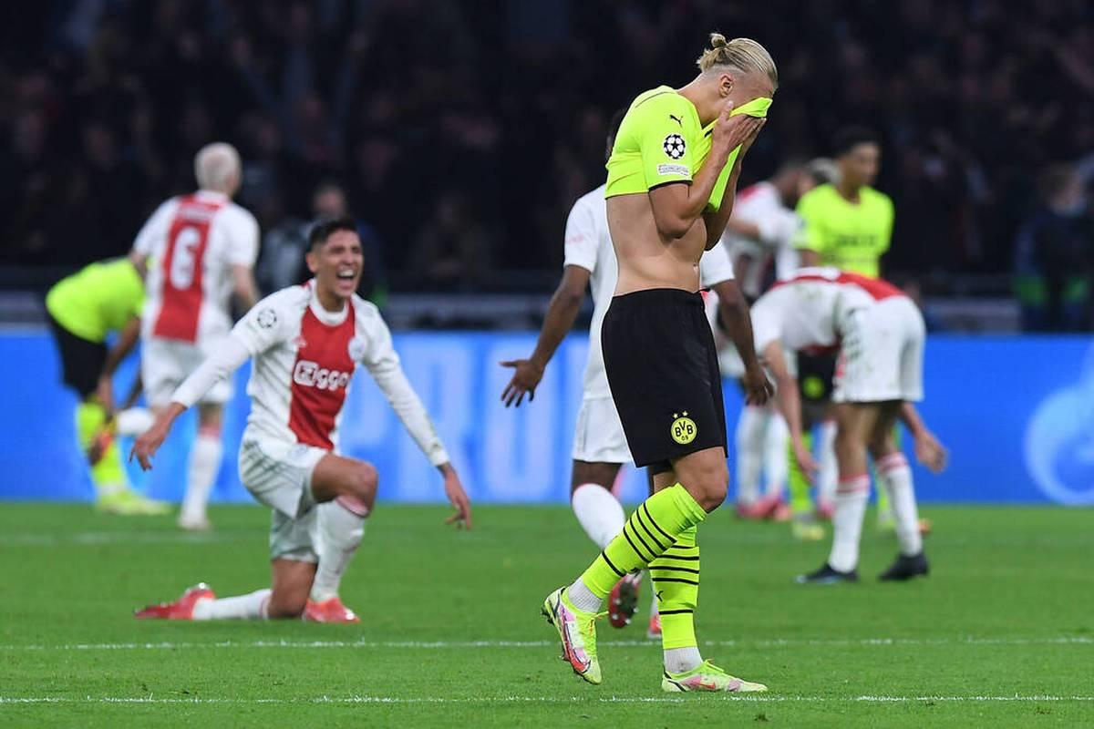 Borussia Dortmund geht bei Ajax Amsterdam sang- und klanglos unter. Die Gastgeber brennen ein Offensiv-Spektakel ab - und gewinnen auch in der Höhe verdient.
