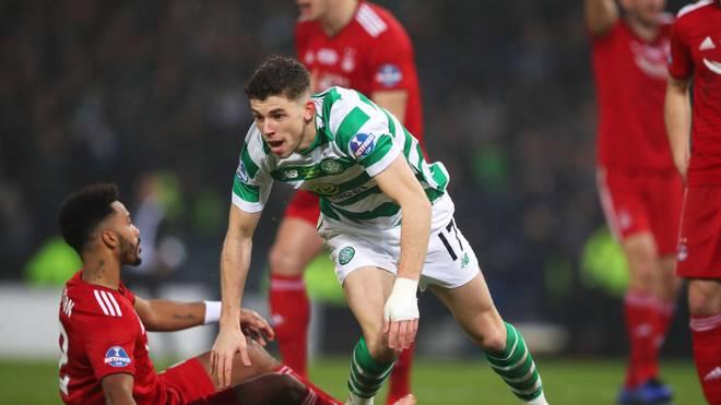 Ryan Christie erzielte das entscheidende Tor für Celtic Glasgow