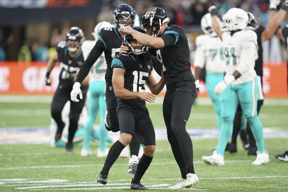 Die Jacksonville Jaguars können aufatmen. Gegen die Miami Dolphins beendet die Franchise aus Florida in London eine historische Niederlagenserie.