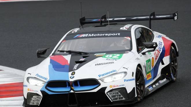 Der BMW M8 GTE befindet sich in WEC und IMSA im ersten Einsatzjahr