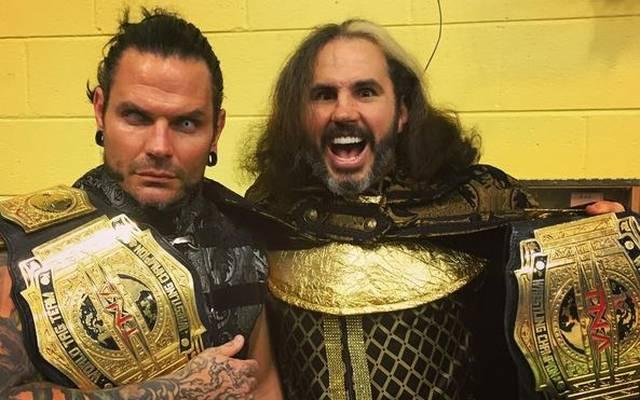 Jeff (l.) und Matt Hardy könnten im Frühjahr zu WWE zurückkehren