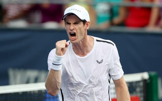 Nach seiner Hüft-Operation meldet sich Andy Murray dank einer Wild Card wieder auf der ATP-Tour zurück
