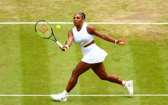 Wimbledon: Serena Williams und Simona Halep im Halbfinale