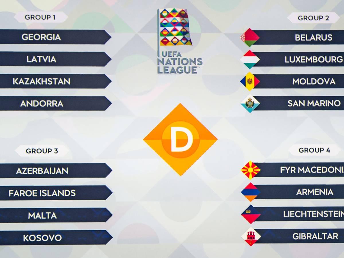 Uefa Nations League Gruppe D Em Garantie Fur Einen