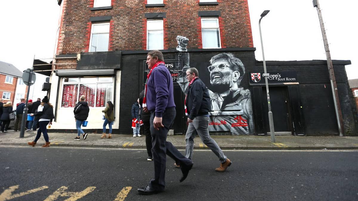 Werden die Liverpool-Fans im Falle des Titels die Anfield Road stürmen?