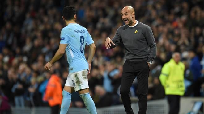 Ilkay Gündogan (l.) steht bei Manchester City noch bis 2020 unter Vertrag