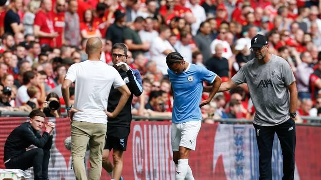 Leroy Sané, Verletzung, Manchester City, ManCity, Jürgen Klopp, FC Liverpool