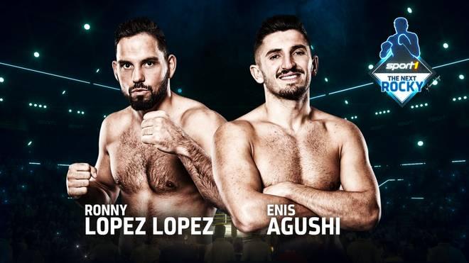 """Enis Agushi und Ronny Lopez Lopez bestreiten das 2. Halbfinale bei """"SPORT1: The Next Rocky"""""""