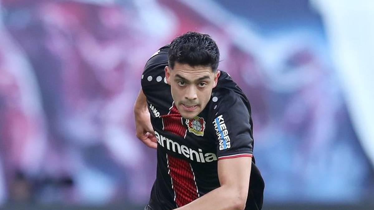 Nadiem Amiri kommt am dritten Spieltag der Bundesliga Home Challenge zum Einsatz