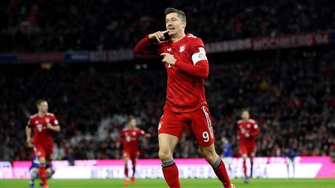Robert Lewandowski spielt seit 2014 für die Bayern