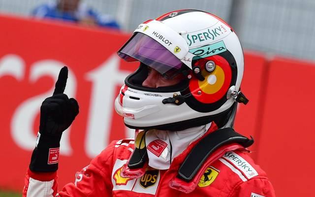 Sebastian Vettel feierte die 55. Pole-Position seiner Formel-1-Karriere
