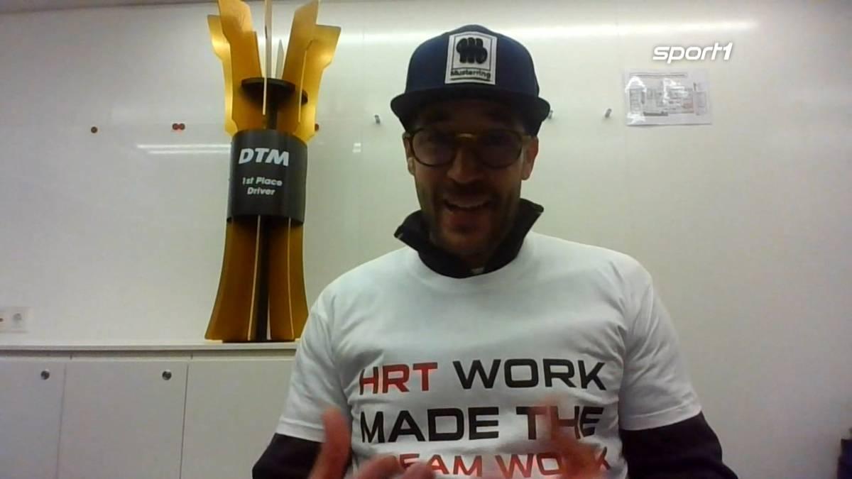 """Der neue DTM-Champion Maximilian Götz spricht im """"AvD Motor & Sport Magazin"""" auf SPORT1 über seinen Überraschungscoup."""