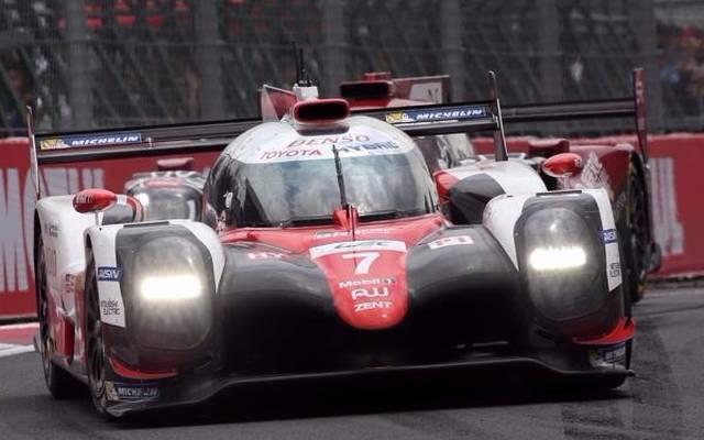 Toyota schnappte sich die erste Bestzeit auf dem Shanghai International Circuit