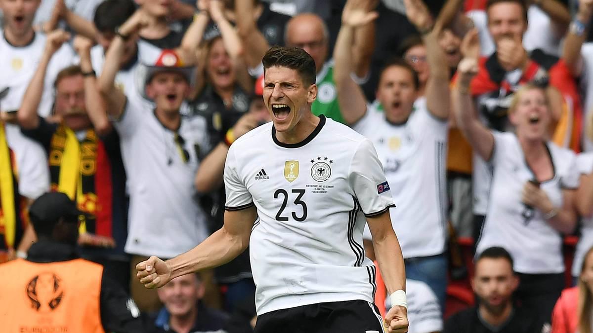 Mario Gomez sorgte für das einzige Tor im Spiel gegen Nordirland