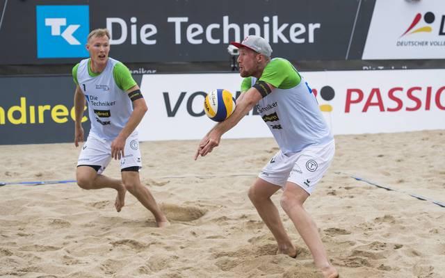 Philipp-Arne Bergmann und Yannick Harms gehen für Deutschland bei der Beachvolleyball-EM an den Start