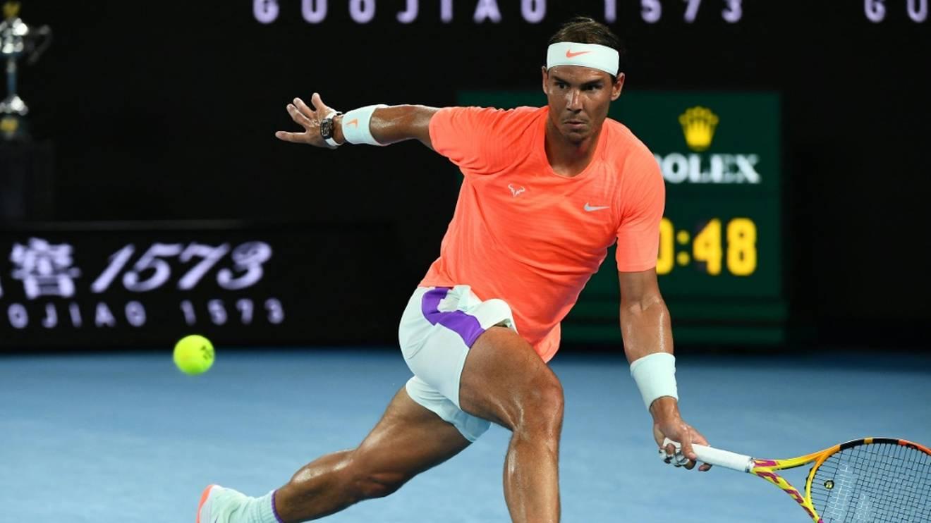 Nadal kämpft mit Rückenproblemen