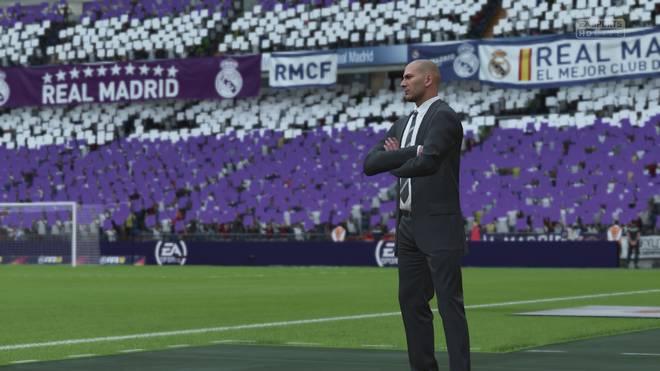 Zidane bei FIFA18