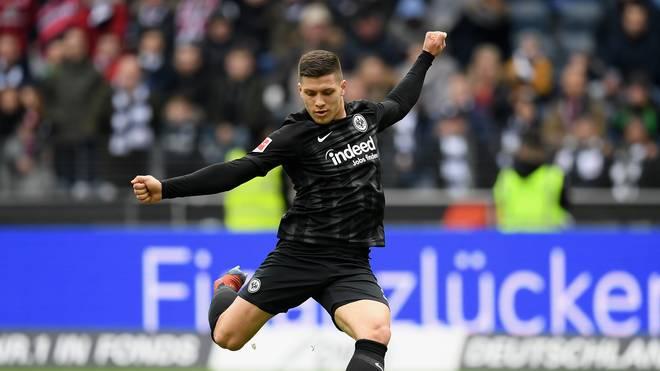 Eintracht Frankfurt hat die Kaufoption bei Luka Jovic gezogen