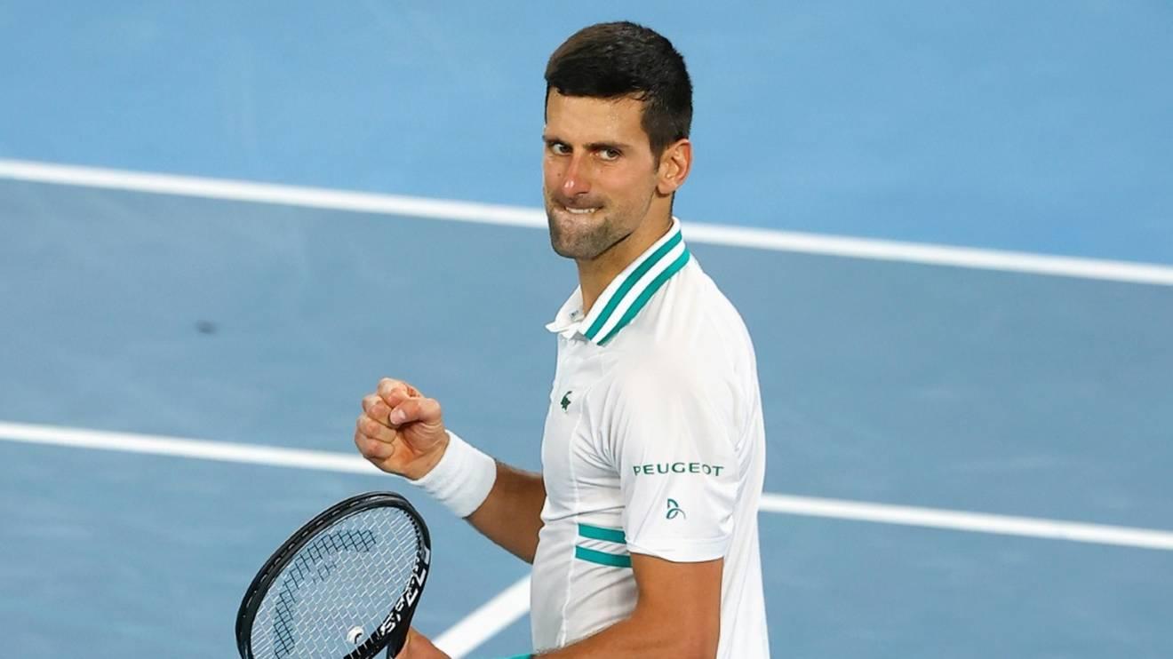 Novak Djokovic hat den neunten Triumph im Visier