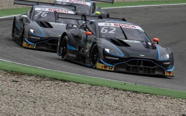 Ferdinand Habsburg fährt den Aston Martin mit der Startnummer 62