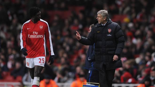 Von Januar 2006 bis Juli 2009 spielte Emmanuel Adebayor beim FC Arsenal