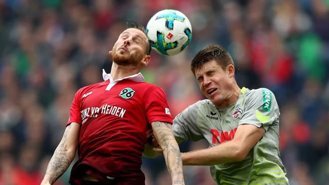 Dominique Heintz vom 1. FC Köln wertet das Remis bei Hannover 96 als Erfolg