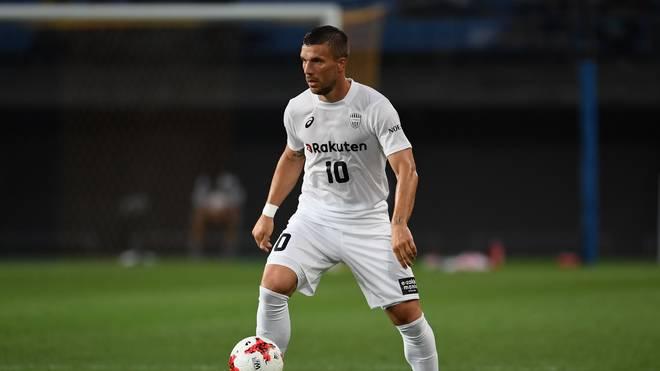 Lukas Podolski spielt bei Vissel Kobe um die japanische Meisterschaft