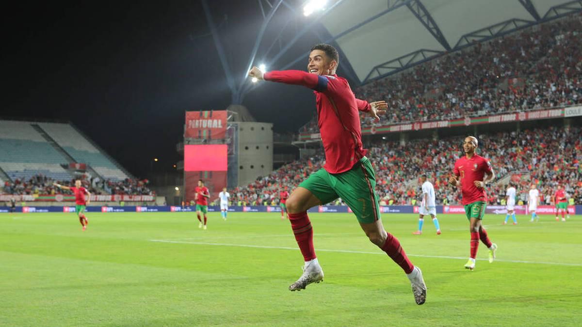 Cristiano Ronaldo stellte den nächsten Rekord auf