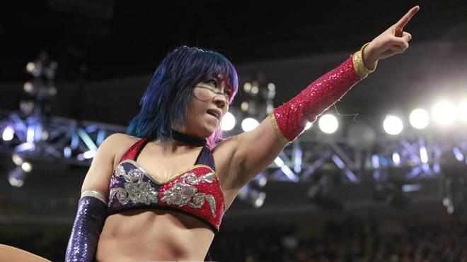 Asuka gewann 2018 den ersten WWE Royal Rumble der Frauen