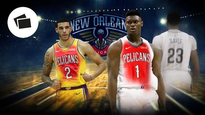 New Orleans Pelicans mit Zion Williamson im Check