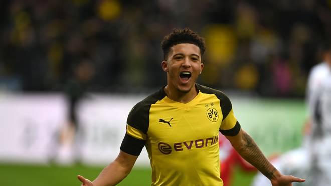 Jadon Sancho steht beim BVB noch bis 2022 unter Vertrag