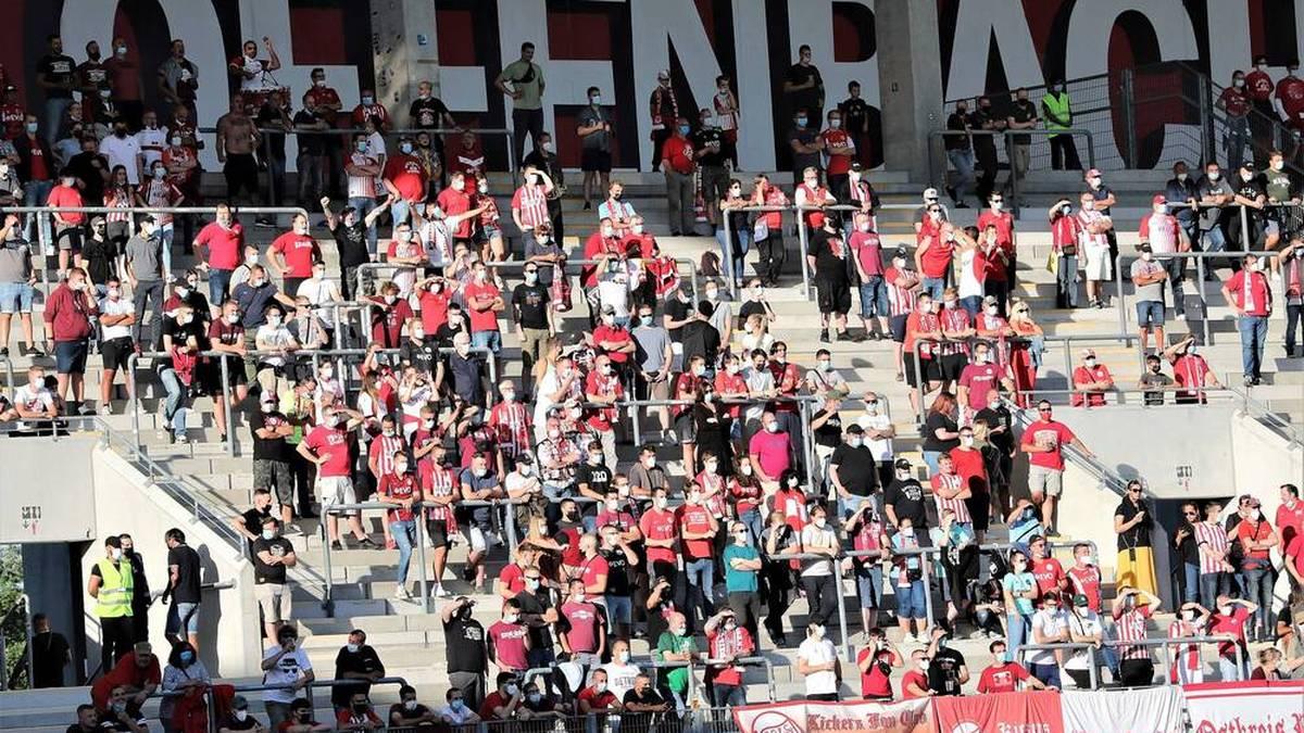 Einige Kickers-Offenbach-Fans stornieren aufgrund der Corona-Regeln ihre Tickets