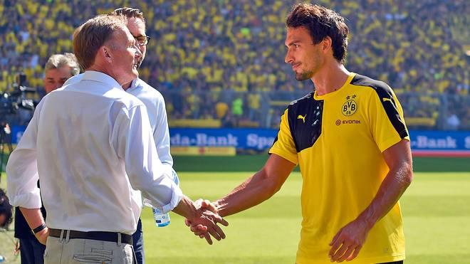 Hans-Joachim Watzke und Mats Hummels