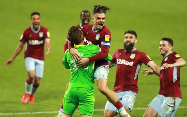Aston Villa ist nur noch einen Sieg von der Rückkehr in die Premier League entfernt