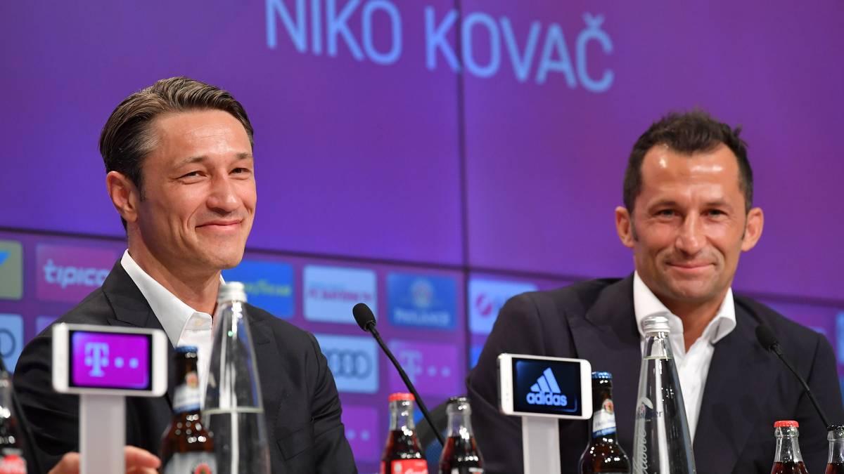 Bayern-Trainer Niko Kovac und Sportdirektor Hasan Salihamidzic