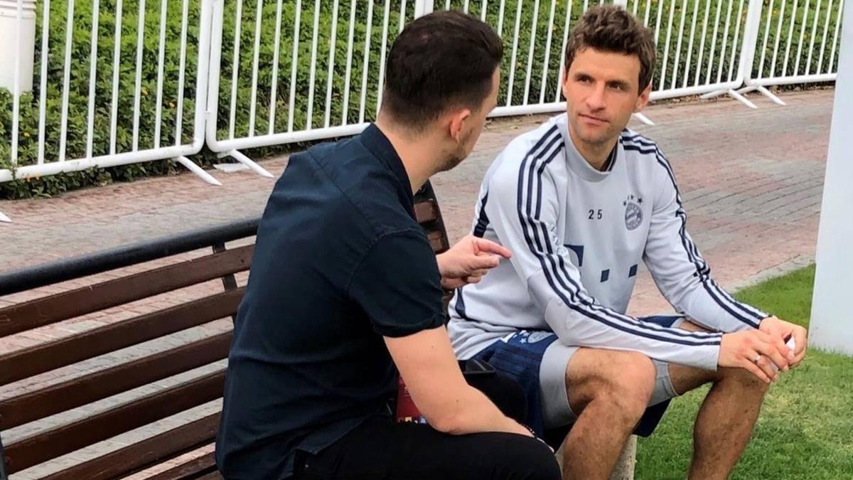 Ur-Bayer Thomas Müller im Gespräch mit SPORT1-Chefreporter Florian Plettenberg