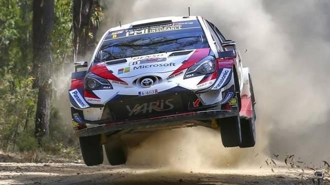 Ott Tänak ist neuer Spitzenreiter beim WRC-Saisonfinale 2018