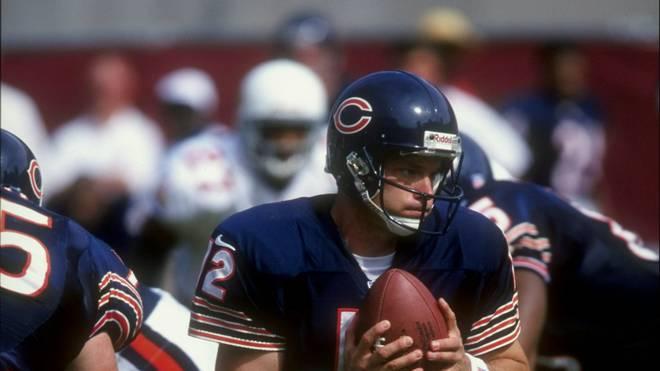 Erik Kramer im Trikot der Chicago Bears
