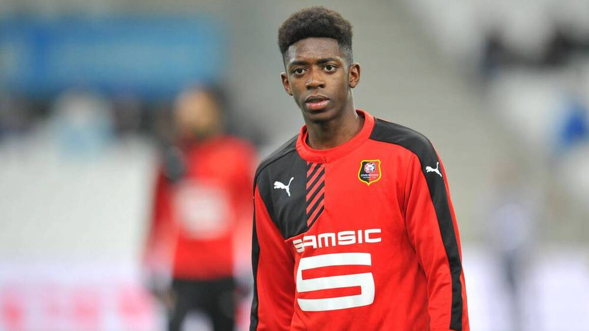 Ousmane Dembélé wurde in der Jugend von Stade Rennes ausgebildet