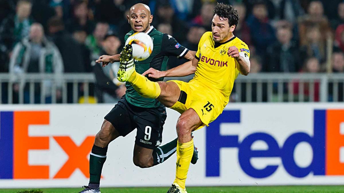 Der ohnehin in der Kritik stehende Kapitän Mats Hummels verursachte einen Elfmeter, der zur Dortmunder Niederlage in Krasnodar führte