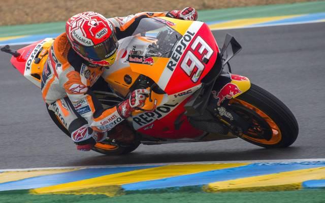 MotoGp of France - Qualifying 300 - Beim Großen Preis von Frankreich sorgt Marc Marquez für den Jubiläumssieg von Honda