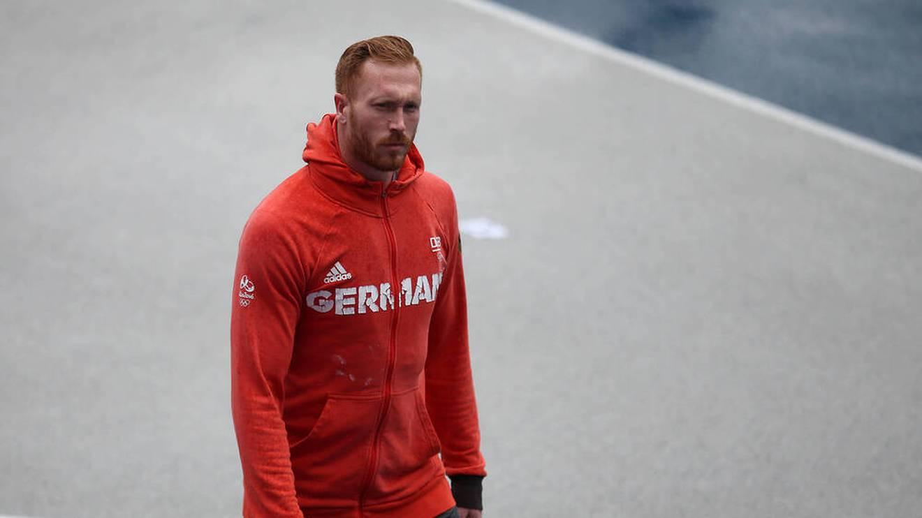 Christoph Harting enttäuscht bei der Deutschen Meisterschaft
