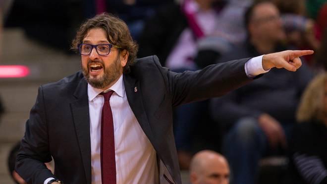 Andrea Trinchieri will mit Brose Bamberg gegen ALBA Berlin gewinnen