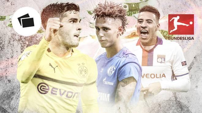 Christian Pulisic ist einer der teuersten Transfers der Bundesliga-Geschichte