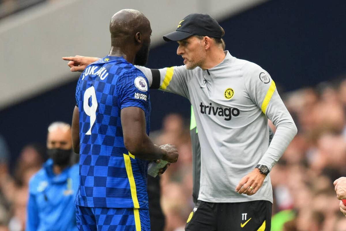 """Der zuletzt erfolglose Chelsea-Torjäger Romelu Lukaku ist nach Ansicht von Thomas Tuchel """"überspielt"""". Der Teammanager konstatiert auch ein psychisches Dilemma."""