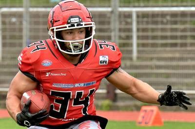 Die Potsdam Royals treten am Sonntag erstmals in den Playoffs der GFL an. Auch Erfolgsgarant Jake Mayon ist mit von der Partie. Der Running Back wurde einst von einem NFL-Team umworben.