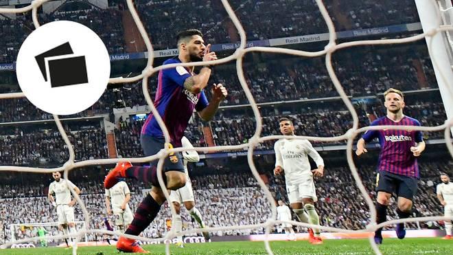 Luis Suarez vom FC Barcelona stellte im Clasico gegen Real Madrid einen neuen Rekord auf