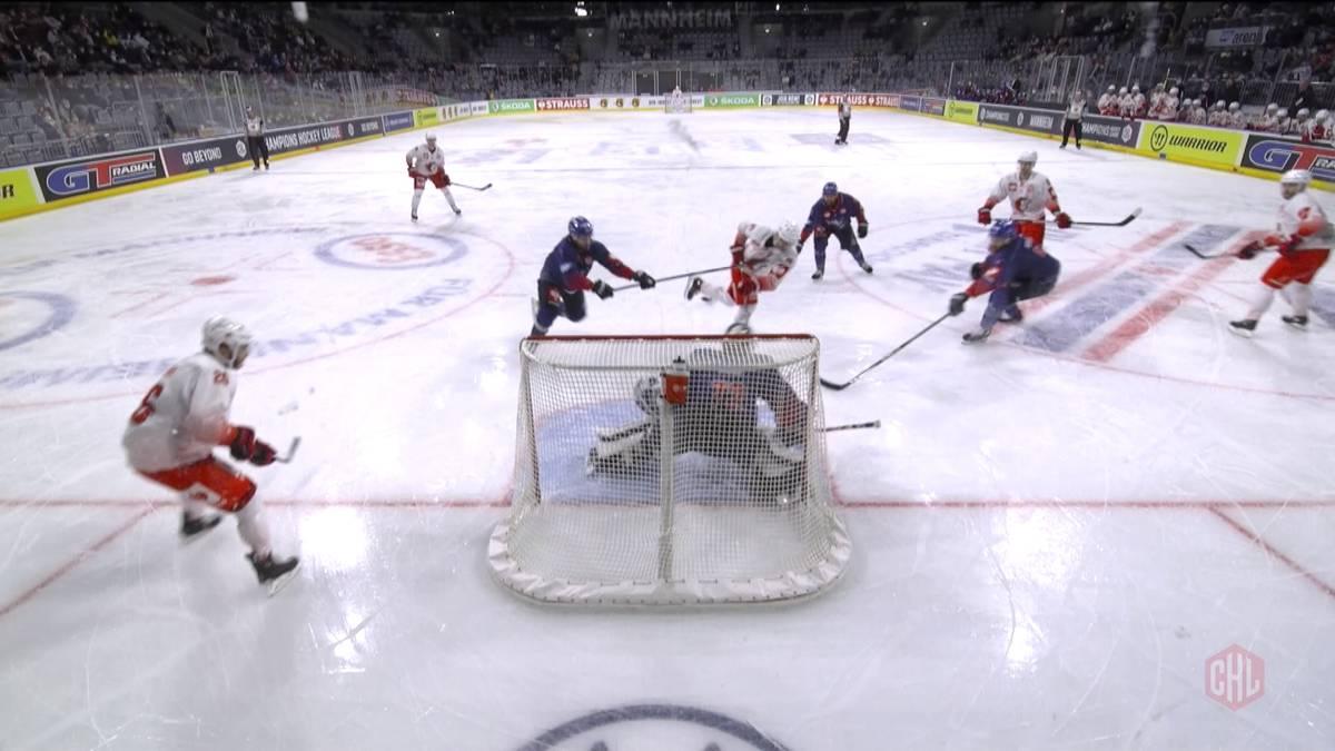 Für die Adler Mannheim ging es beim HC Lausanne um Rang eins der Gruppe. Die Adler waren  allerdings schon vor der Partie für das Achtelfinale qualifiziert.