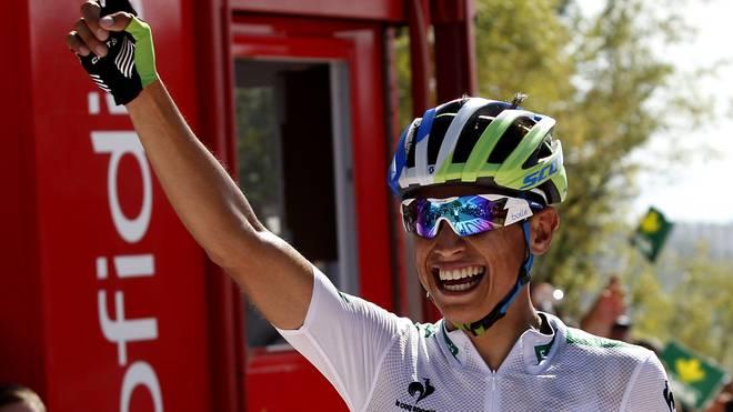 Esteban Chaves bleibt bei der Vuelta weiter vorne
