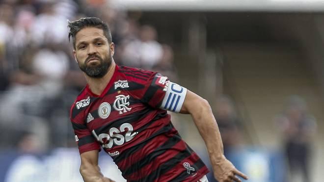 Brasilien: Ex-Bremer Diego nach Foul schwer verletzt, Der ehemalige Bremer Diego spielt für Flamengo in Brasilien